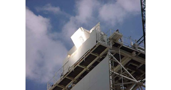 HitRec2  on CESA 2 steel tower.jpg