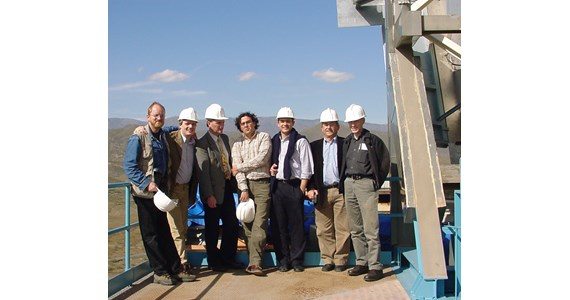 SolAir team 2003 on top of CESA 1.JPG
